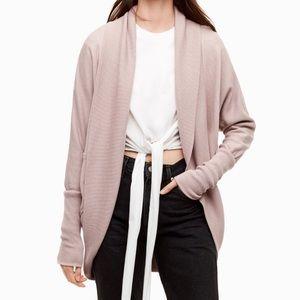 Aritzia Wilfred Diderot sweater pink size XS